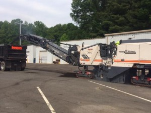 REPAVING FRED'S OAK ROAD IN BURKE, VA