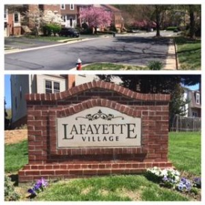 Parking lot paving project for HOA in Annandale, VA