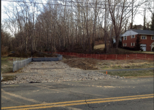FIRST PHASE OF DEAD RUN PARK IN FAIRFAX COUNTY COMPLETE.