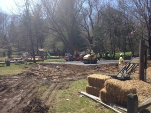 EXPANDING BASKETBALL COURT IN CLIFTON.