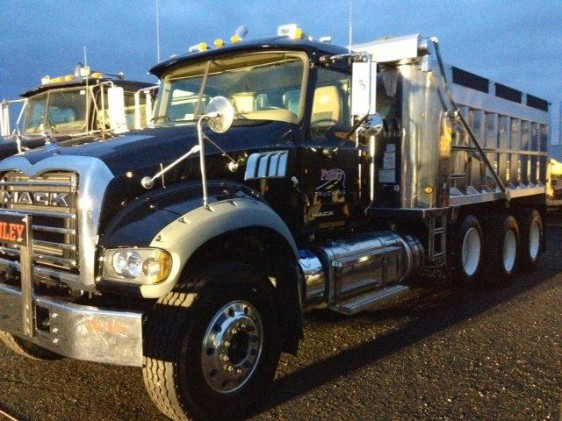 FINLEY PURCHASES TWO NEW 2013 MACK TRUCKS, FLEET IS READY TO ROLL OUT FOR SPRING.