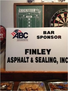 FINLEY ATTENDED AND SPONSORED THE ASSOCIATED BUILDERS AND CONTRACTORS NETWORKING EVENT