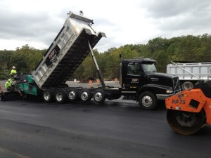 FINLEY ASPHALT RECENTLY COMPLETED PAVING THE NEW BUS PARKING LOT AT GARFIELD HIGH SCHOOL LOCATED IN WOODBRIDGE, VA.